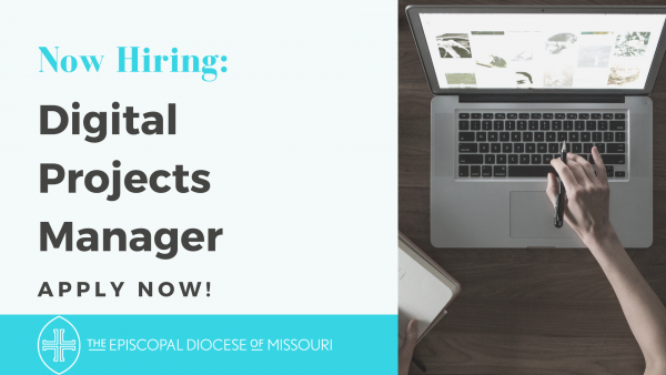 Now Hiring: Diocesan Communications / Digital Projects Manager